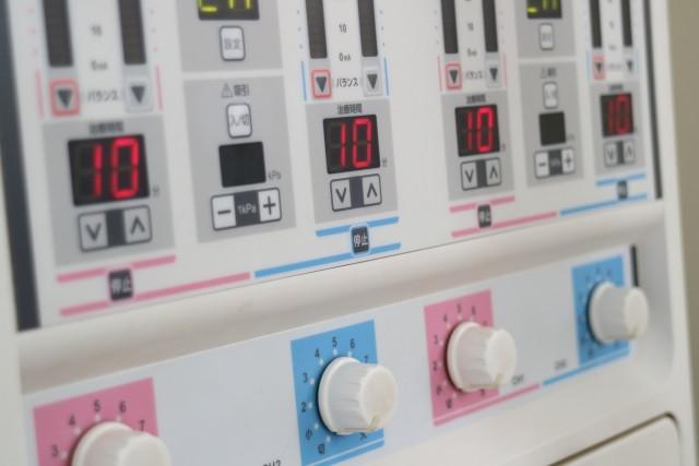 電気施術の画像